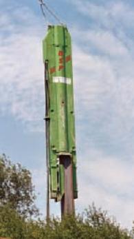 Свайные гидравлические молота BSP SL для забивки шпунтовых свай